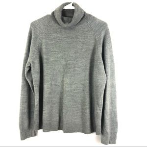 Karen Scott Gray Extra Large Turtle Neck Sweater